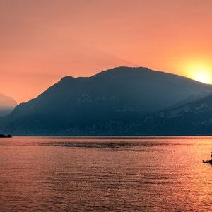 Sonnenuntergang Malcesine