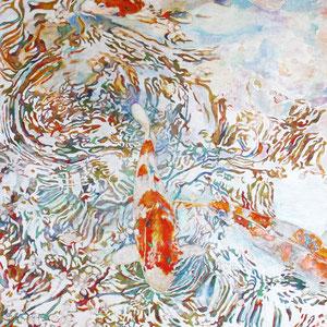 《春の彩り》 72.7×50.0cm 2014