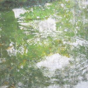 《緑映》 182×227cm 2009  /第41回日展