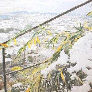 《白い朝》 182×227cm 2010  /第42回日展