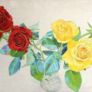 《薔薇》 24.2×33.3cm 2017