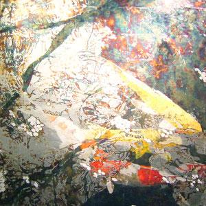 《ハルめく》 117×117cm 2011