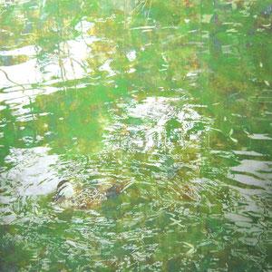 《響き》 162×162cm 2010  /第28回上野の森美術館大賞展・賞候補