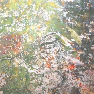 《水の奏》 162×162cm 2010  /第10回佐藤太清賞公募美術展
