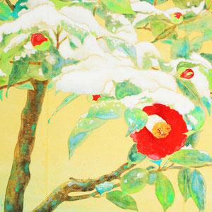 《雪椿》 22.0×37.3cm 2015