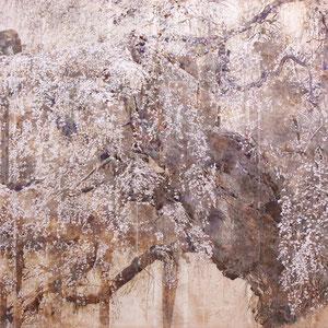 《幻華》 130.3×162.0cm 2014  /第20回松伯美術館花鳥画展