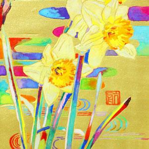 《黄水仙》 14.8×10.0cm 2015