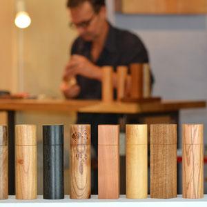 edle Naturhölzer in großer Auswahl für Beständig Design Pfeffermühlen