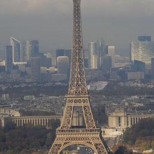 Tour Eiffel und la Défense