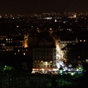 Blick von der Sacré Coeur