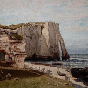 Musée d' Orsay - les Falaises d'Etretat