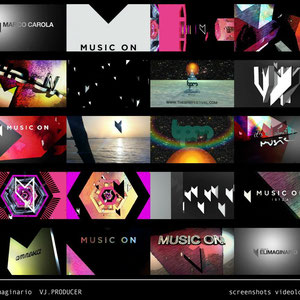 SCREENSHOTS VIDEOLOOPS MUSIC ON IBIZA elimaginario