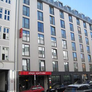 MUNICH– Hotel Adagio – 4.800 qm