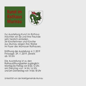Kunst im Rathaus Murnau