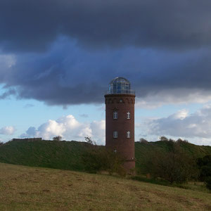 Burgwall am Kap Arkona mit Leuchtturm