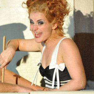 """""""Cabaret"""" Rolle: Helga, Staatstheater Meiningen ©foto-ed 2011"""