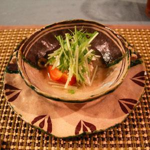 鯛の洋風トマト蒸し 絶妙の熱の通し方で鯛の香りが立ち上がる ほわほわの舌ざわり