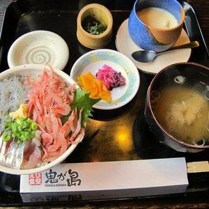 ぬまづどんぶり ¥1380也 茶碗蒸しは別注文!