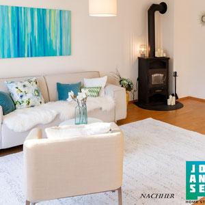 Home Staging  Johannsen Kiel Bad-Segeberg Schleswig-Holstein Raumgestaltung Wohnzimmer Haus