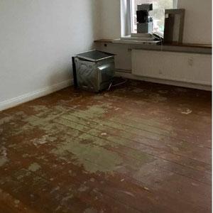 Wohnzimmer vorher, Home Staging JOHANNSEN Kiel, Schleswig-Holstein