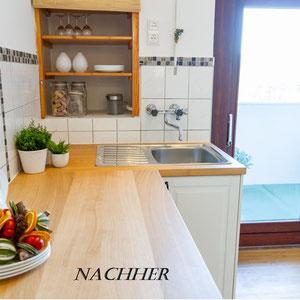 Küche nachher, Home Staging JOHANNSEN Kiel, Schleswig-Holstein