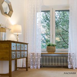 Home Staging Johannsen Wohnzimmer Ecke nachher