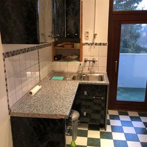 Küche vorher, Home Staging JOHANNSEN Kiel, Schleswig-Holstein