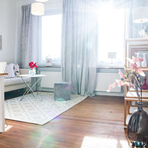 Wohnzimmer nachher, Home Staging JOHANNSEN Kiel, Schleswig-Holstein Einrichtungsberatung Raumgestaltung