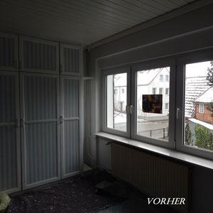 Home Staging Johannsen Schlafzimmer vorher