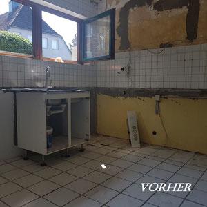 Home Staging Johannsen Küche vorher