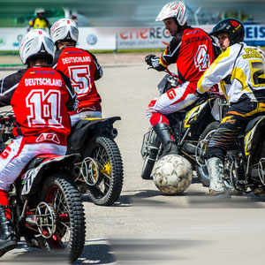 Deutsche Motoball Nationalmannschaft gegen Kuppenheim
