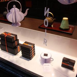 Henri Le Roux - vitrine thé - zoom tasse