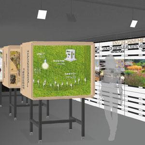 exposition Viparis Porte de Versailles - la vue 3D