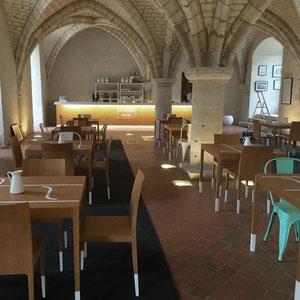 ABBAYE LA LAITERIE X AGENCE ANN(E) > identité et aménagement du salon de thé de l'abbaye du Valasse