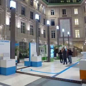 expo SNCF digital infra - vue générale