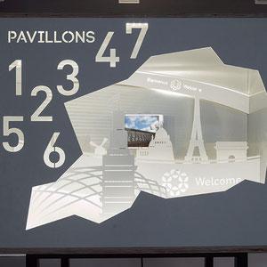 exposition Viparis Porte de Versailles - zoom expo universelle