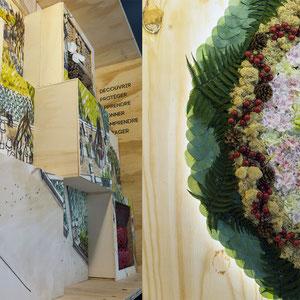exposition Viparis Porte de Versailles - zoom jardins partagés et jardins biotopes
