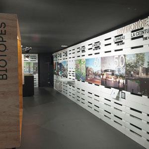 exposition Viparis Porte de Versailles - muraux