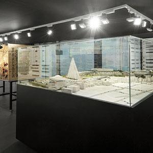 exposition Viparis Porte de Versailles - vue depuis la maquette