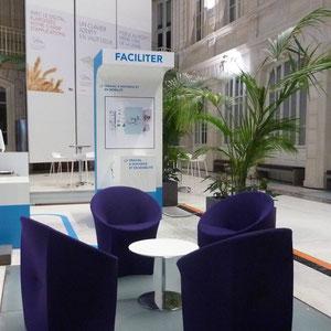 expo SNCF digital infra - espace échange