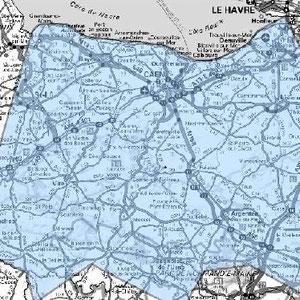 DAB+ multiplex Caen étendu, canal 5B