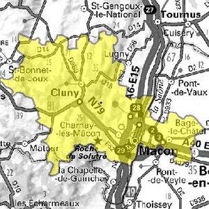 DAB+ multiplex Mâcon local, canal 8A