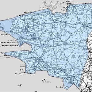 DAB+ multiplex Brest étendu, canal 9A