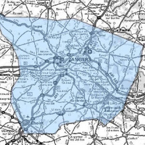 DAB+ multiplex Angers étendu, canal 6B