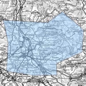 DAB+ multiplex Avignon étendu, canal 9D