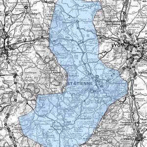 DAB+ multiplex Saint-Étienne étendu, canal 6C