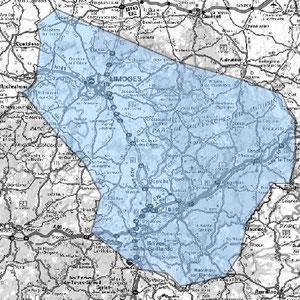 DAB+ multiplex Limoges étendu, canal 5C