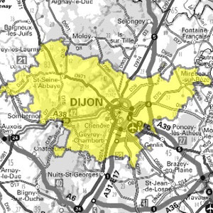 DAB+ multiplex Dijon local, canal 11B
