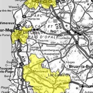 DAB+ multiplex Calais local, canal 5B