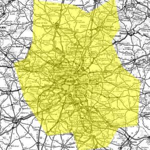 DAB+ multiplex Paris intermédiaire, canal 6A et canal 6D